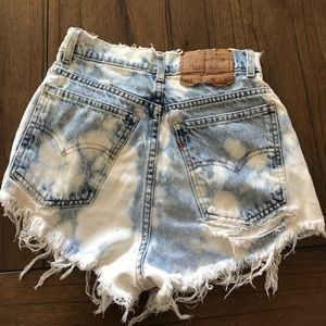Rare Vintage Levi's high waisted jeans shorts 912